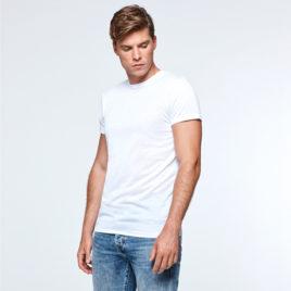 Camiseta unisex blanca impresa a todo color